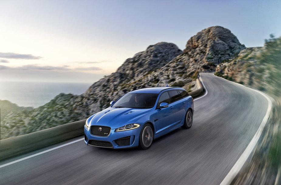 """""""Jaguar XFR-S"""" universalas"""