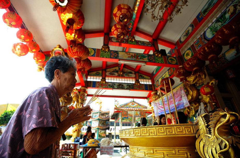 Kinų šventykloje