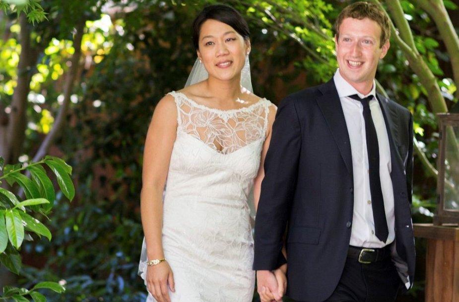 Markas Zuckerbergas ir Priscilla Chan