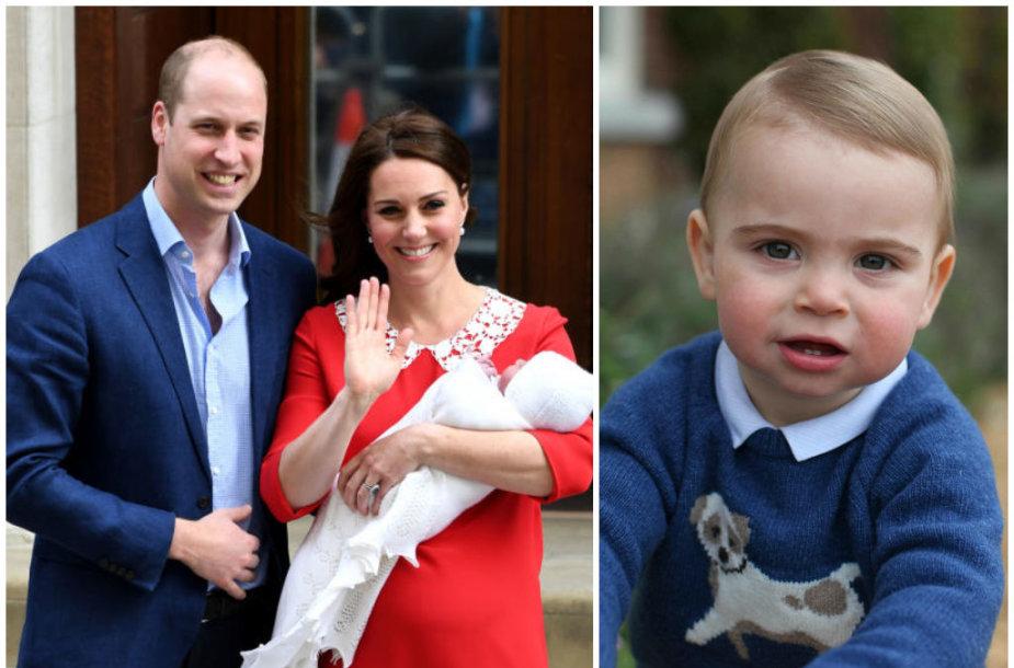 Princas Williamas, Kembridžo hercogienė Catherine ir princas Louisas