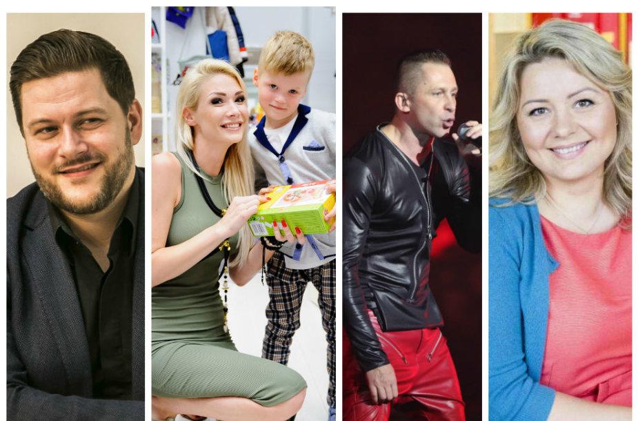Merūnas Vitulskis, Natalija Bunkė su sūnumi Kristupu, Egidijus Dragūnas, Beata Nicholson