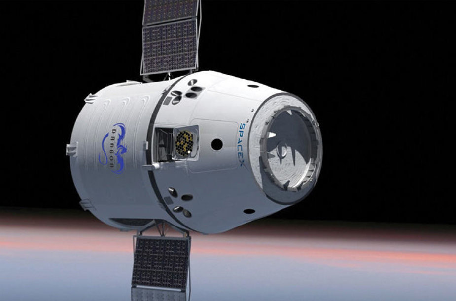 "SpaceX ""Dragon"" kapsulė"