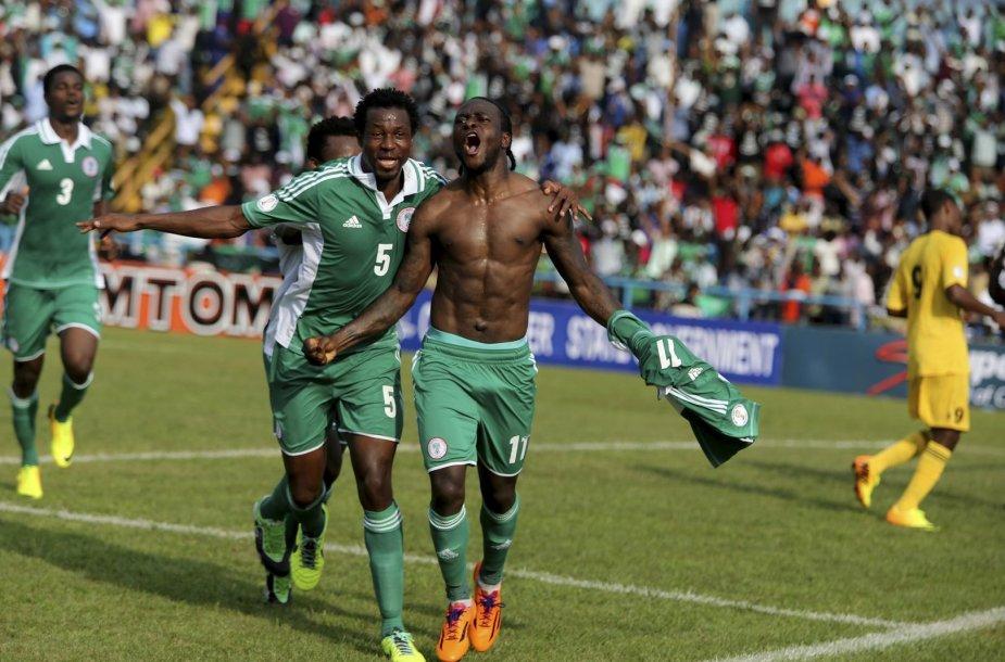 Nigerijos futbolo rinktinė