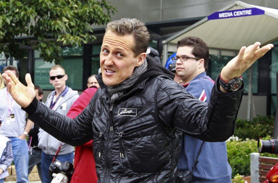 Michaelis Schumacheris 2011-ųjų kovą