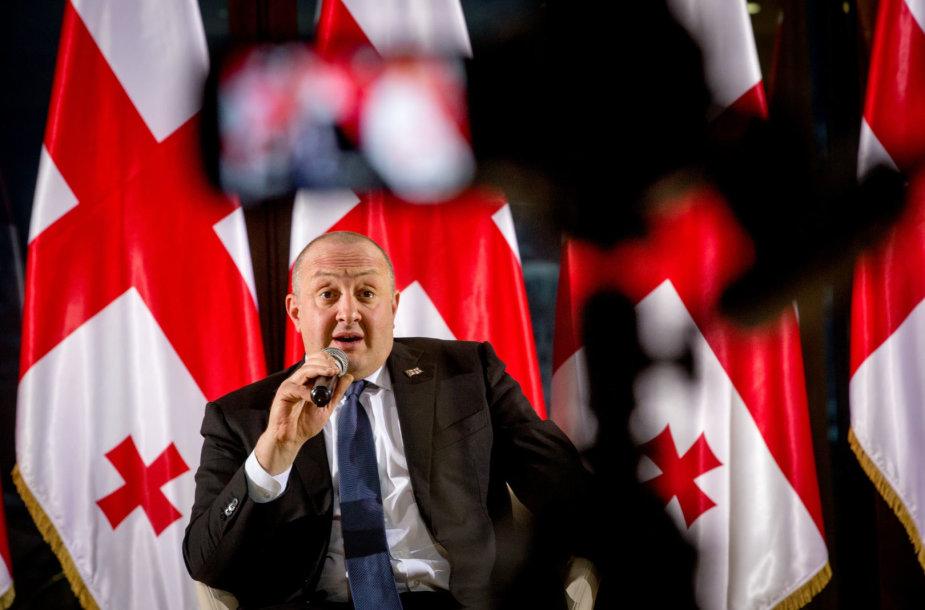 Gruzijos prezidentas Georgijus Margvelašvilis