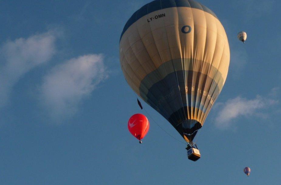 Oro balionų varžybos