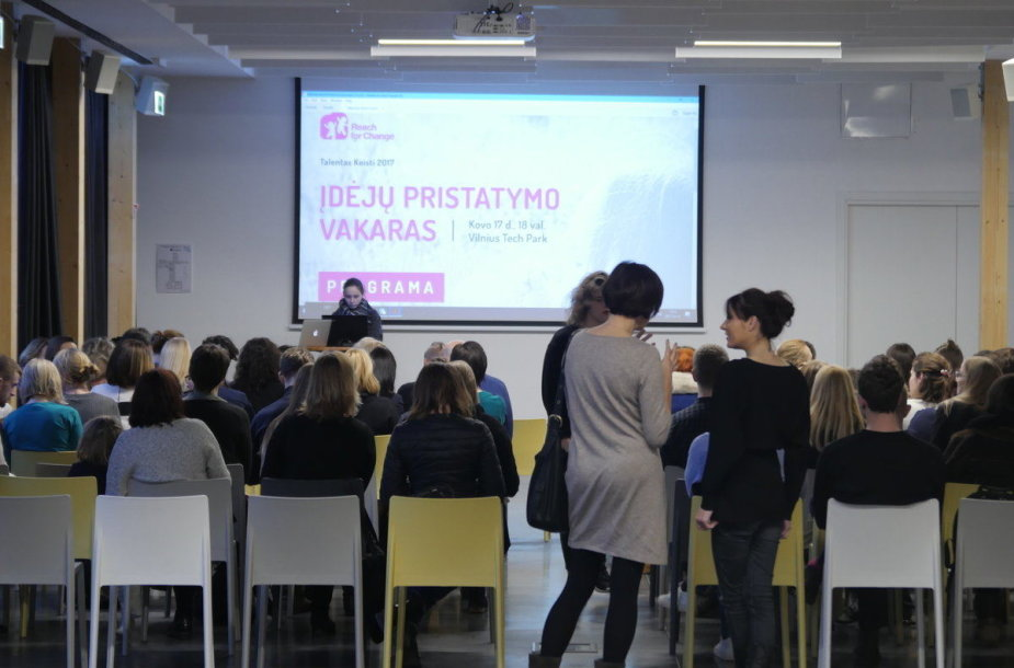 Socialinių inovacijų vaikams pristatymas