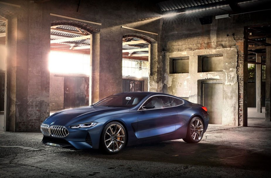 BMW 8 serijos koncepcinis modelis