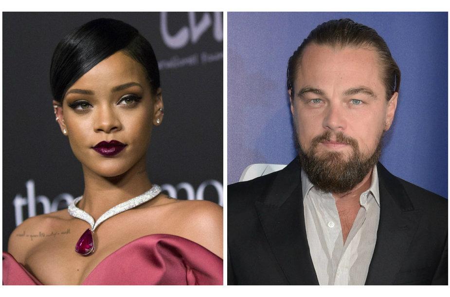 Rihanna ir Leonardo DiCaprio