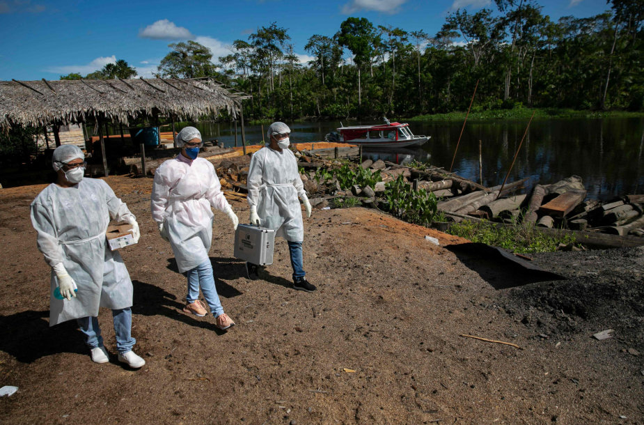 Brazilija per koronaviruso pandemiją