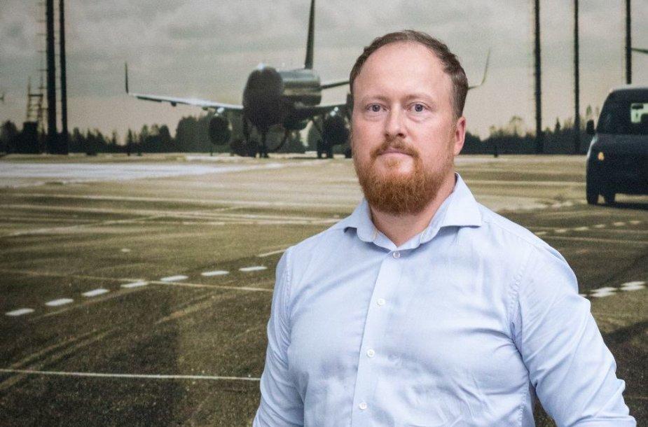 Palangos oro uosto vadovas Andrius Daujotas