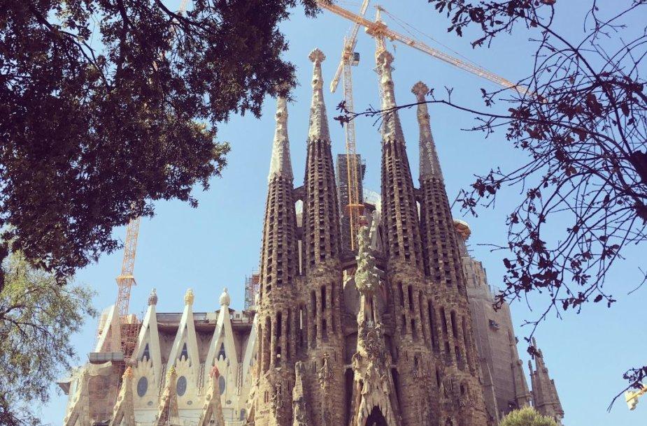 Barselonos Šv. Šeimynos bažnyčia bus užbaigta iki 2026 metų