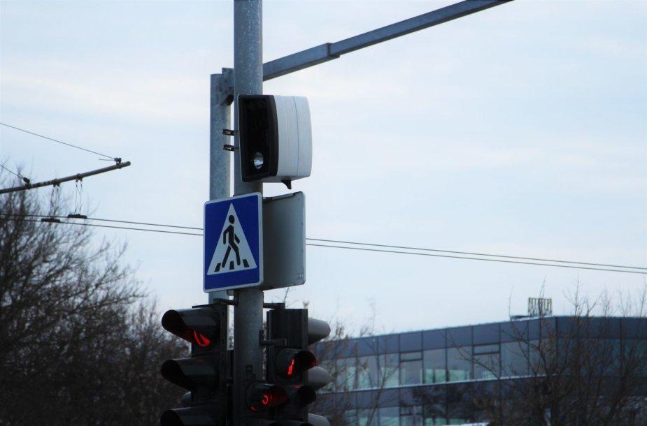 Išmanusis greičio matuoklis Vilniuje, Konstitucijos prospekte