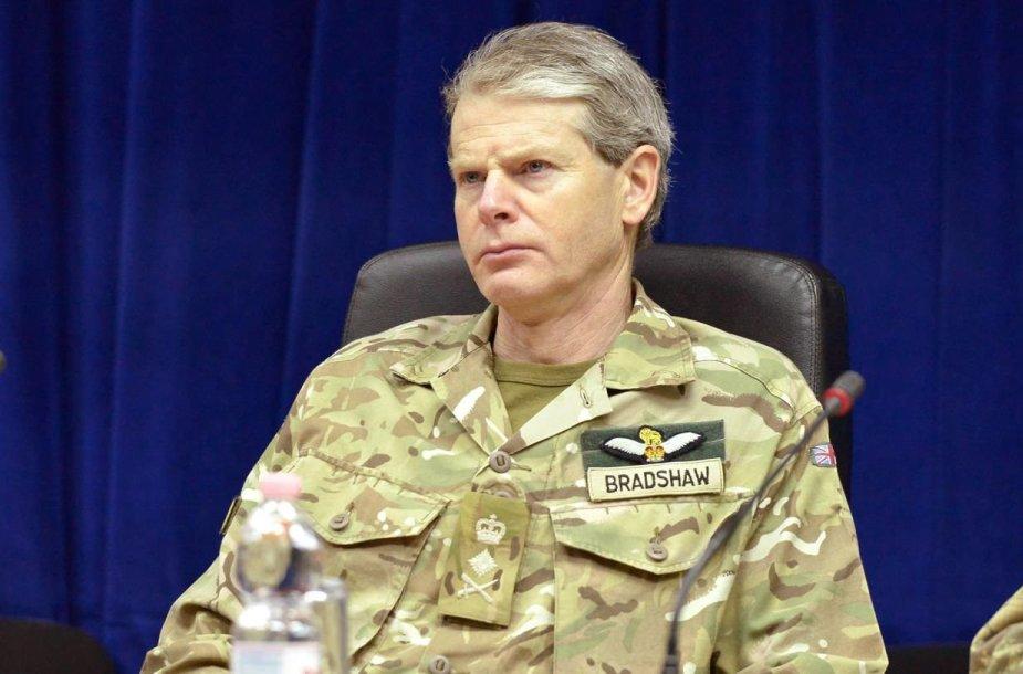 NATO generolas Adrianas Bradshaw