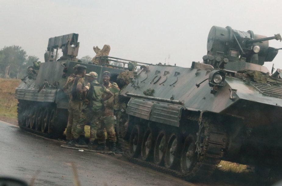 Kariai Zimbabvėje