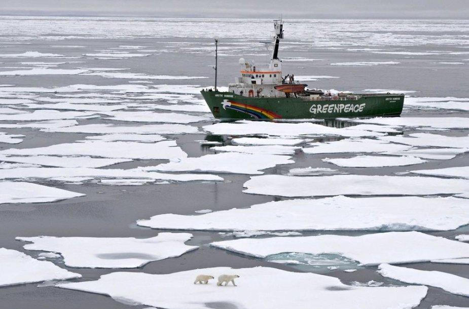 """Laivas """"Arctic Sunrise"""""""