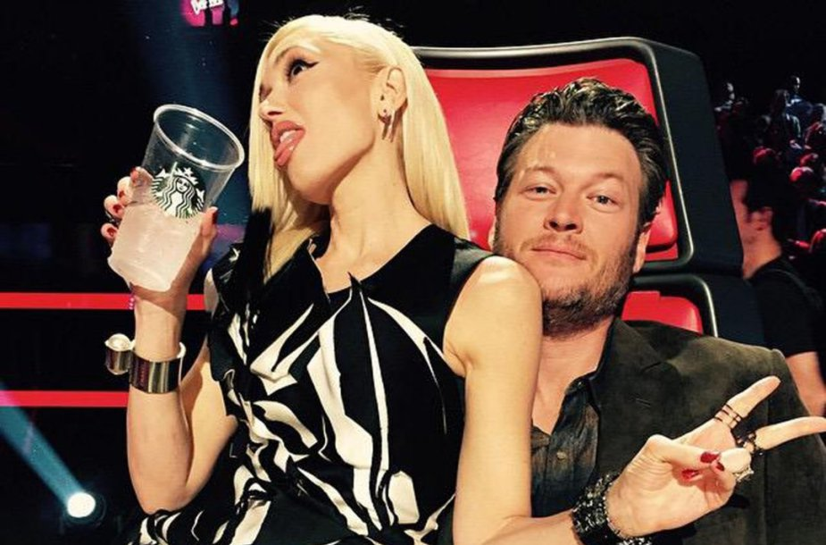 Gwen Stefani ir Blake'as Sheltonas
