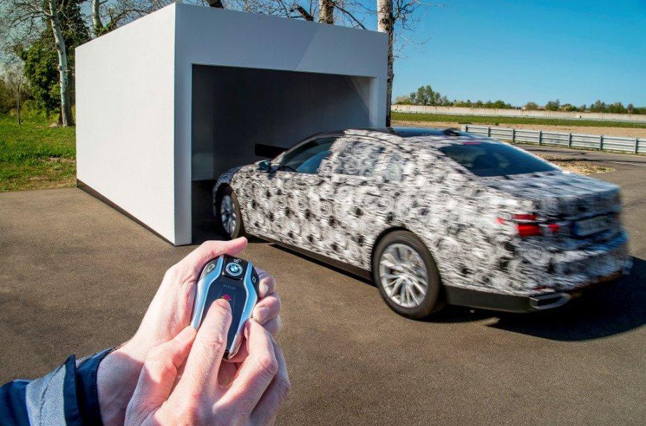 Žvilgsnis į naująjį BMW 7