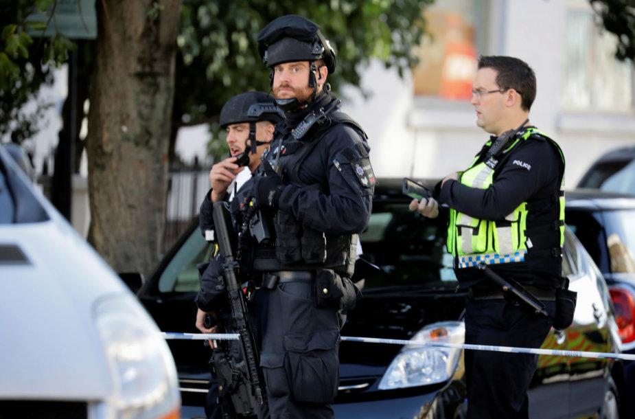 """Londono policija """"Parsons Green"""" stotyje"""