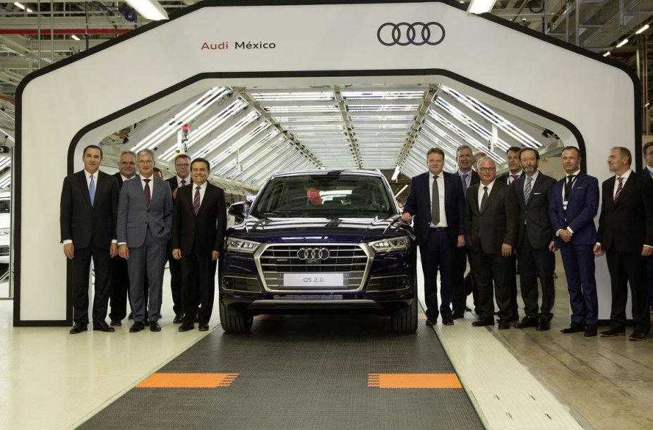 """""""Audi"""" gamykla Meksikoje"""
