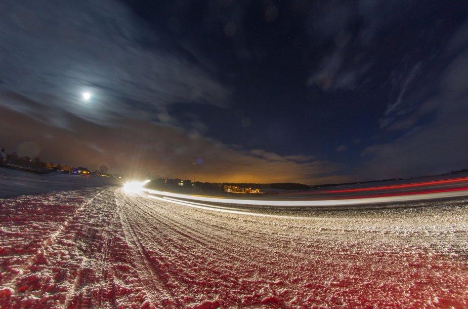 Pasakiška žiemos naktis