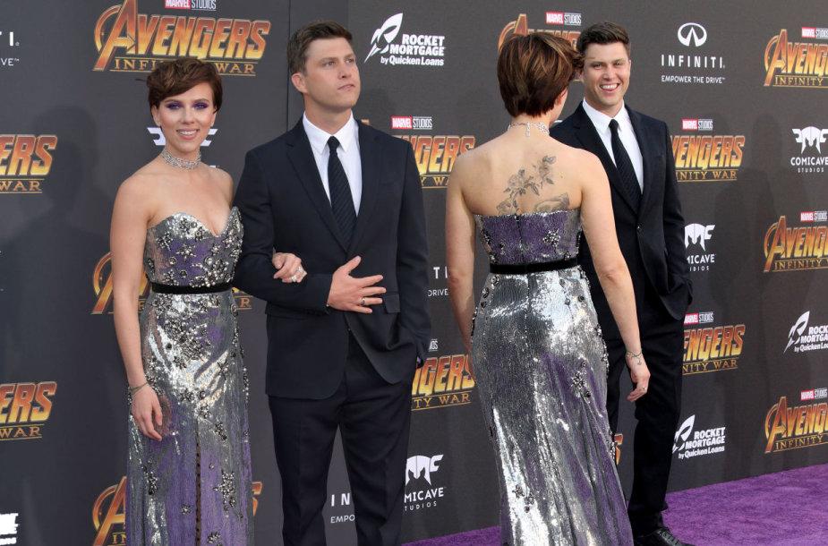 Scarlett Johansson ir Colinas Jostas