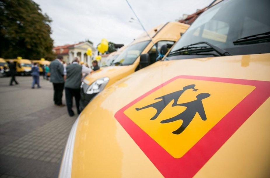 Mokykliniai autobusai