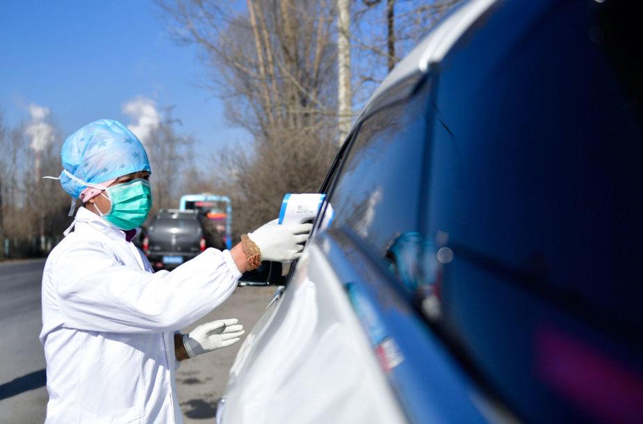 Iš Kinijos po pasaulį plinta naujasis koronavirusas