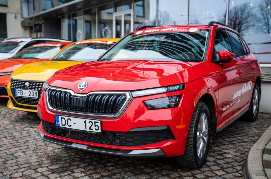 """Konkursas """"Latvijos metų automobilis 2020"""""""