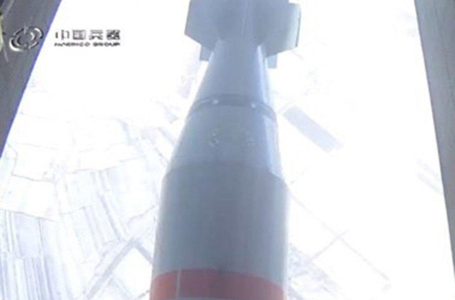 """Kinija išbandė savo """"Visų bombų motiną"""""""