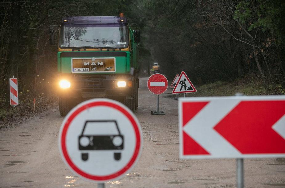 Mykolo Lietuvio gatvės asfaltavimas