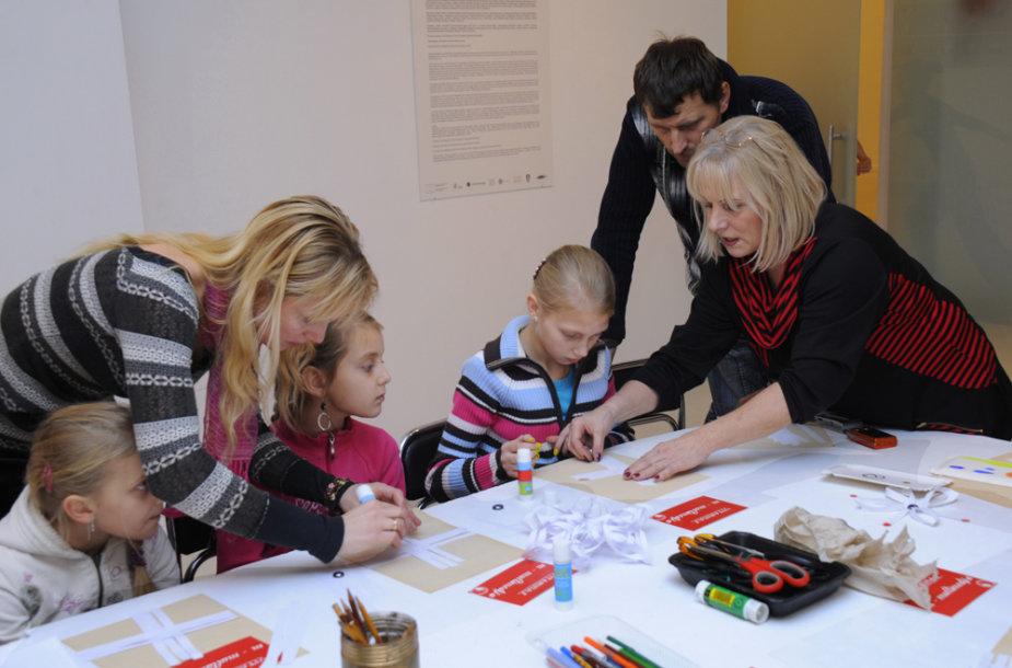 Kultūrų komunikacijų centre – nemokami edukaciniai užsiėmimai.