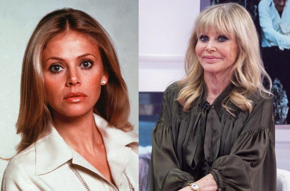 Britt Ekland 1974 m. ir dabar