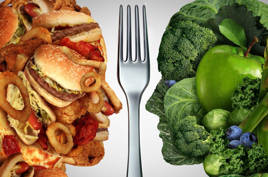 Kaip mityba veikia mūsų smegenis?