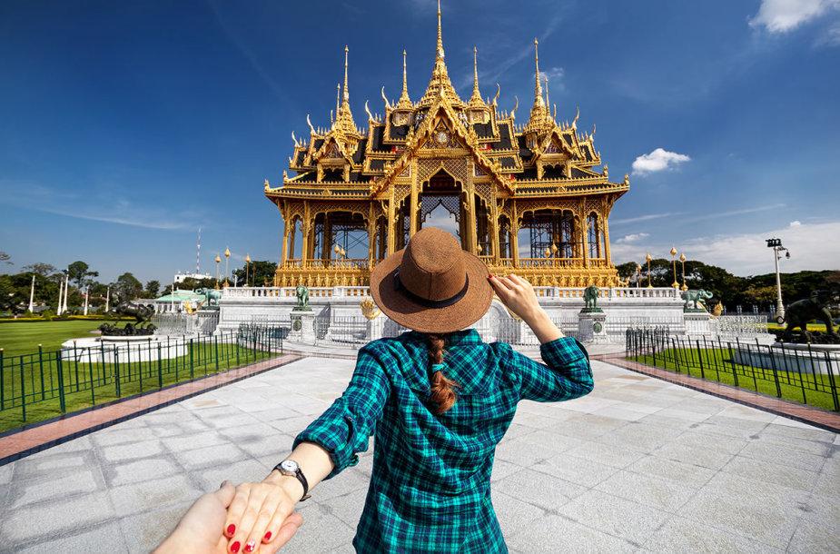Turistė Tailande