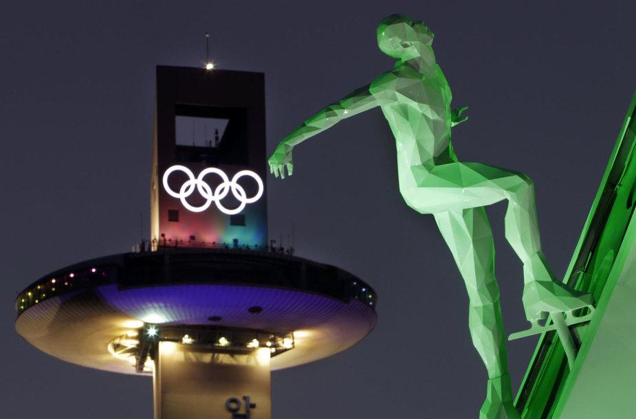 Pjongčango olimpinių žaidynių atidarymas