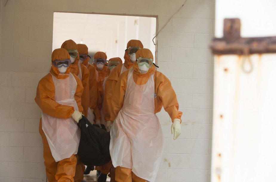 Ebolos viruso protrūkio vietoje