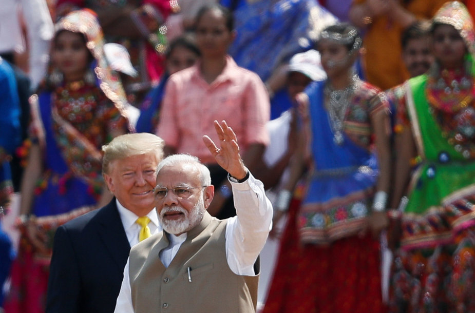Donaldas Trumpas, Narendra Modi