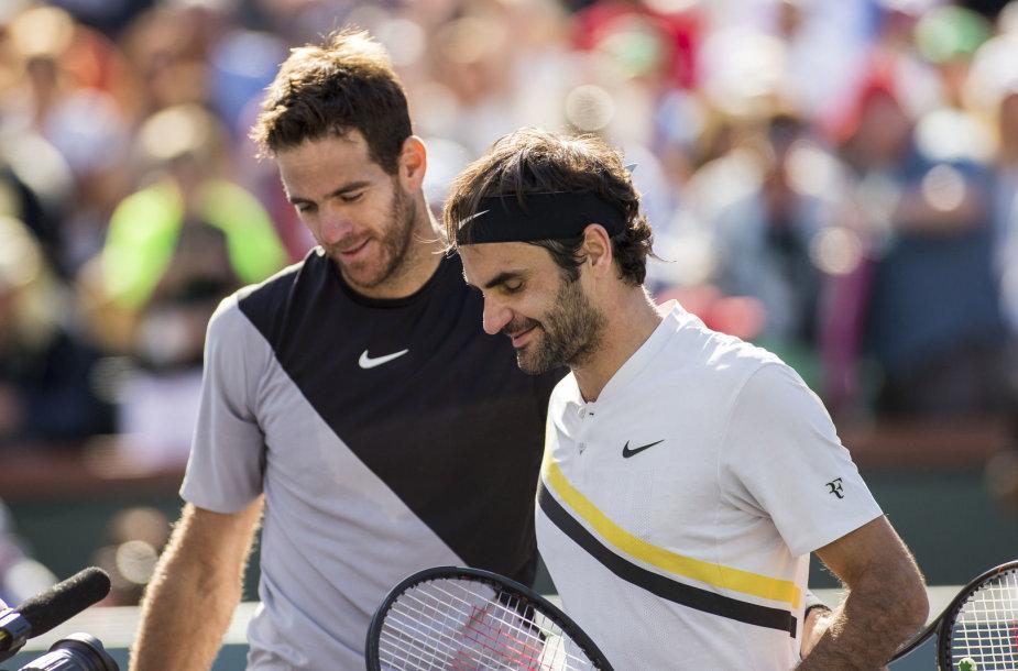 Juanas Martinas del Potro ir Rogeris Federeris