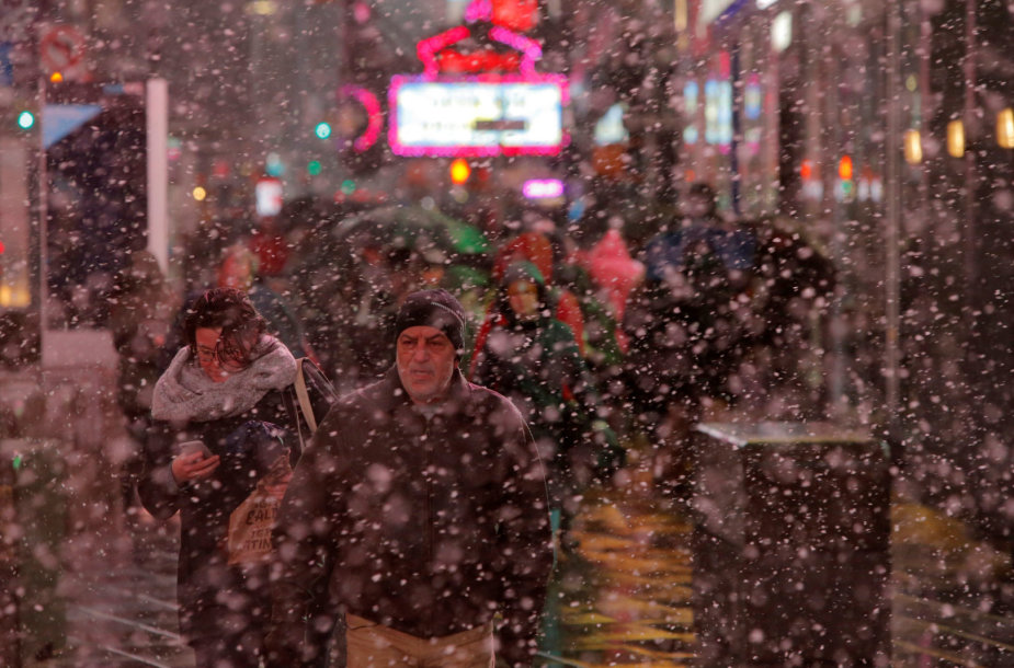 Oro sąlygos Niujorke
