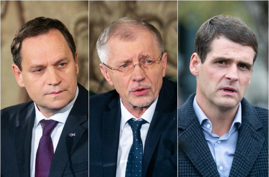 Valdemaras Tomaševskis, Gediminas Kirkilas ir Remigijus Žemaitaitis