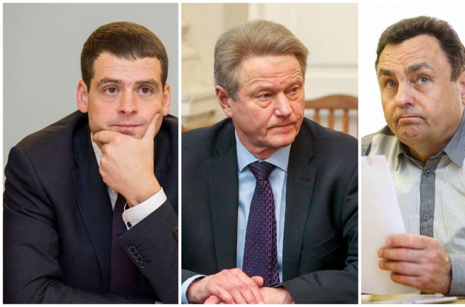 Remigijus Žemaitaitis, Rolandas Paksas ir Petras Gražulis