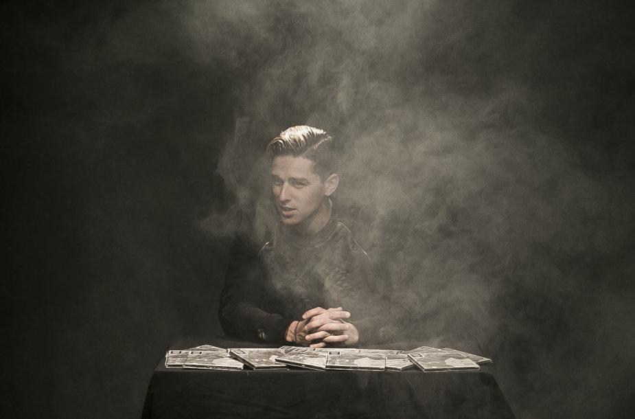 Donato Montvydo albumo pristatymo akimirka