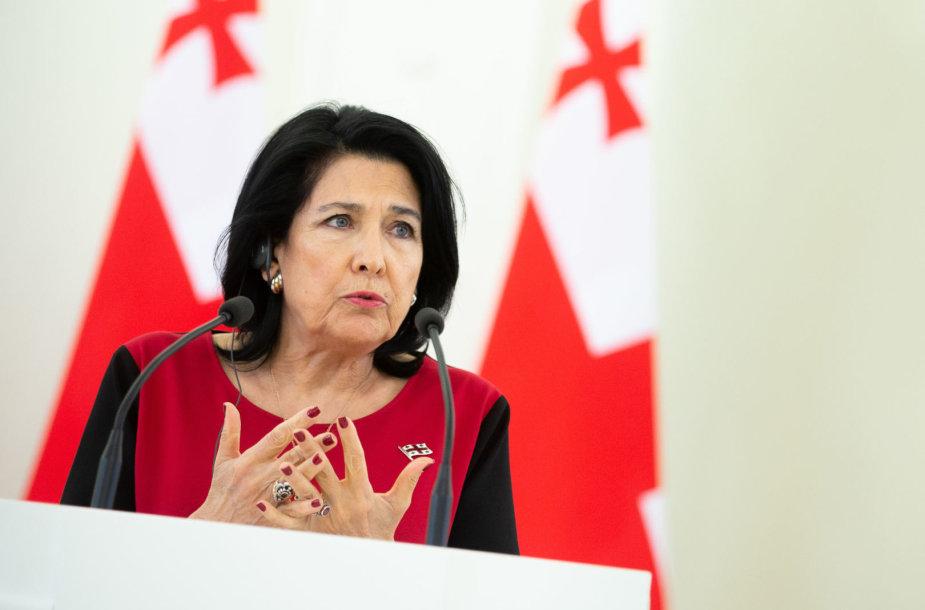 Salome Zurabišvili