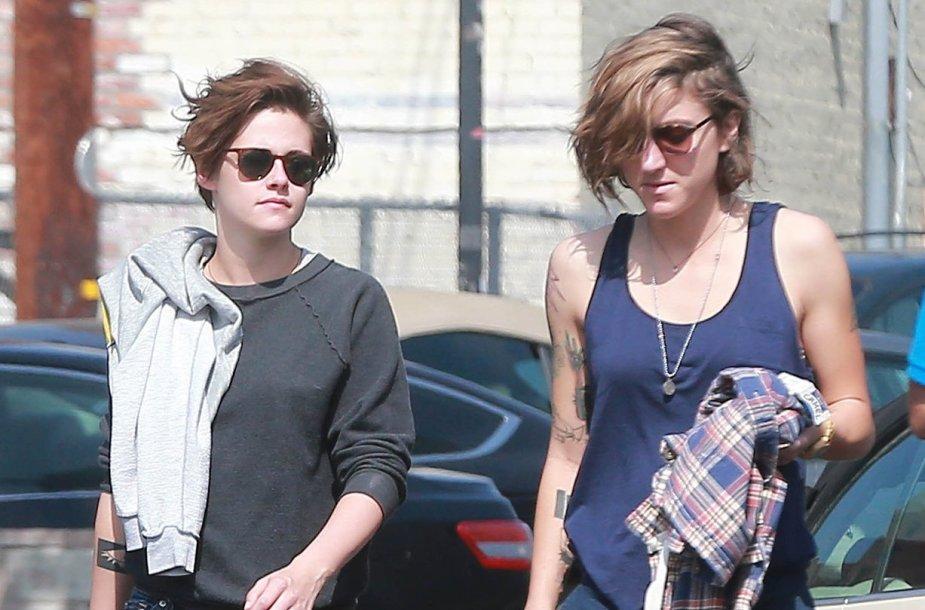 Kristen Stewart ir Alicia Cargile