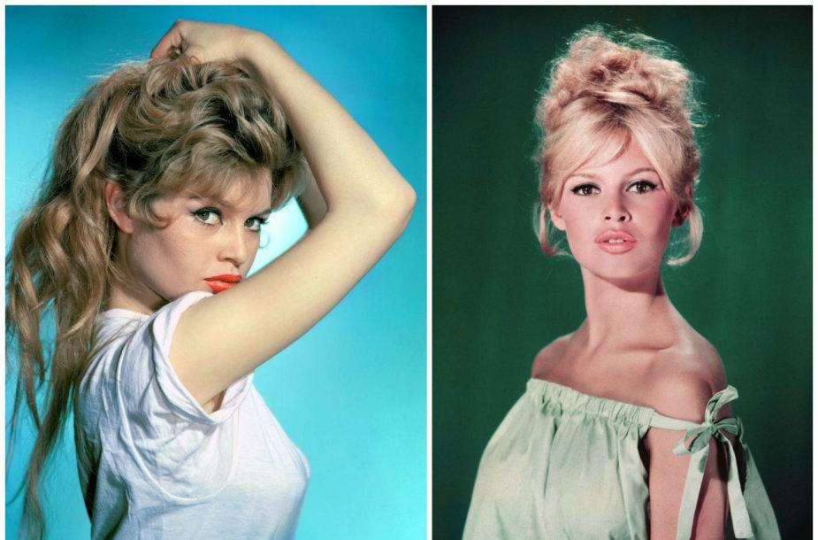 Prancūzų aktorė Brigitte Bardot