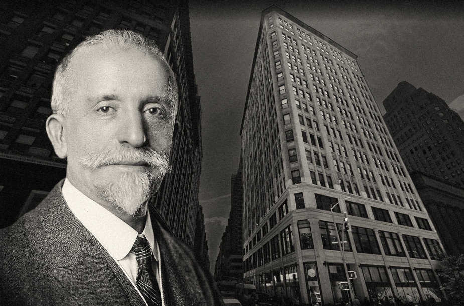 Harris Fischelis ir jo suprojektuotas pastatas Niujorke