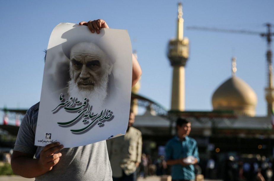 Irano islamo revoliucijos lyderio Ruhollah Khomeini mauzoliejus Teherano pietiniame rajone