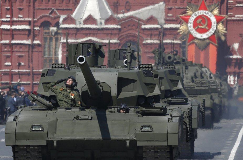 """""""T-14 Armata"""" tankai"""