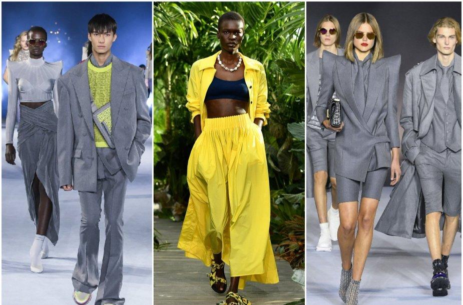 2021 m. spalvos – skaisčiai geltona ir pilka